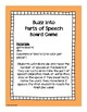Parts of Speech Board Game: Nouns, Adjectives & Verbs