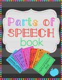 Parts of Speech Book: Fun Reference Notes