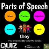 Parts of Speech-Boom Cards