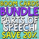 Parts of Speech Boom Cards (Digital Task Cards) BUNDLE