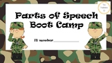 Parts of Speech Boot Camp-DIFFERENTIATED