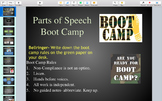 Parts of Speech Bootcamp