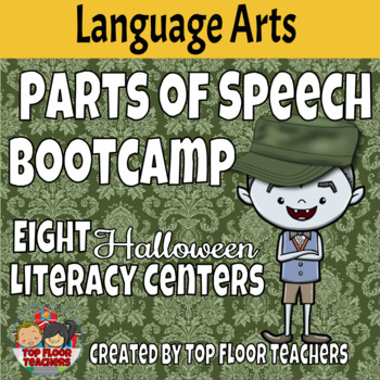 Parts of Speech Bootcamp Halloween Theme