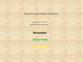 Parts of Speech Building Blocks Noun Verb Practice