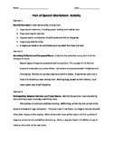 Parts of Speech Bundle