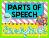 Parts of Speech Candy Land