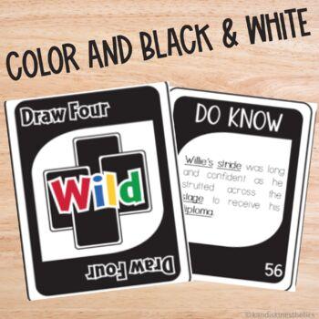 Parts of Speech Card Game (Do-Know Grammar Series)