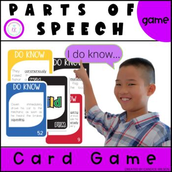 Parts of Speech Card Game (Do-Know Grammar Series)