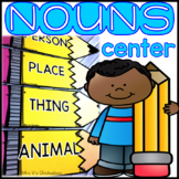 Parts of Speech Center: Nouns Sorting Activity