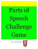 Parts of Speech Challenge Game