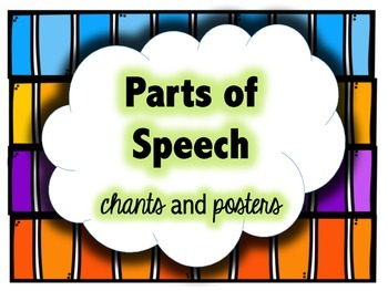 Parts of Speech - Chants and Posters