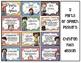 Parts of Speech Chevron Kids Posters