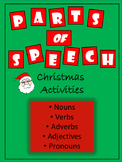 Parts of Speech - Christmas Activities