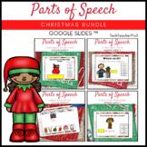 Parts of Speech Christmas Bundle Grammar Activities Google