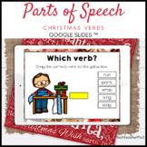 Parts of Speech Christmas Verbs Google Slides ™ Distance L