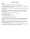 Parts of Speech Classroom Scavenger Hunt