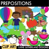 Parts of Speech Clip Art - Prepositions