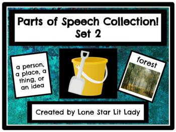 Parts of Speech Collection! Game - Set 2