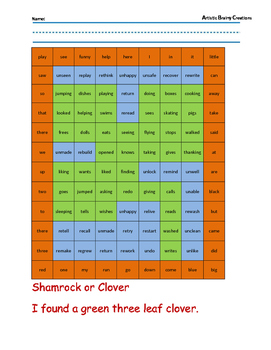 Parts of Speech: Color a Mystery Picture 6 (Prefixes and Suffixes)