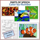 Parts of Speech Color-by-Number (from Classic Poetry)