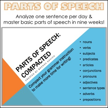 Parts of Speech Compacted