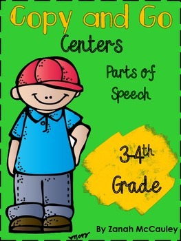 Parts of Speech Copy and Go Centers