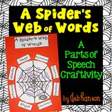 Parts of Speech Craftivity for Halloween