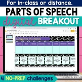 Parts of Speech Digital Breakout