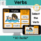 Parts of Speech : Digital Task Cards (Nouns, Verbs, Adjectives and Prepositions)