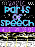 Parts of Speech Display Posters