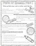 Parts of Speech Doodle Notes: Part 1