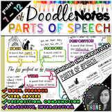 Parts of Speech Doodle Notes