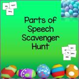 Parts of Speech Easter Egg Scavenger Hunt