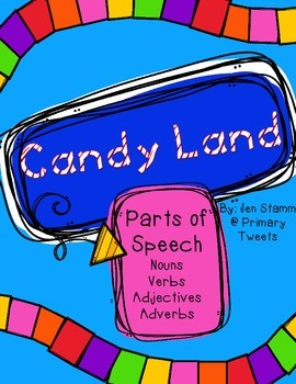 Parts of Speech Edition Candy Land