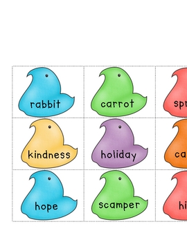 Parts of Speech Egg Hunt and Word Sort