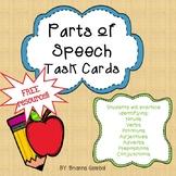 Parts of Speech FREE Resource