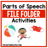 Parts of Speech File Folder Activities