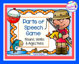 Parts of Speech Game: Fishing Theme