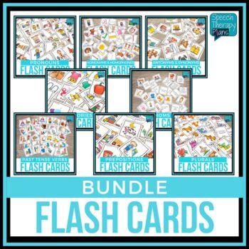 Language Flash Card Bundle