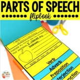 Parts of Speech Flip Book