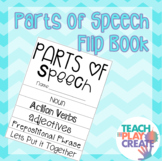 Parts of Speech Flip Book