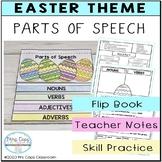 Parts of Speech Flip Book for Easter  3rd Grade