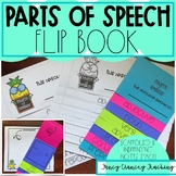 Parts of Speech Flip Book for Note Taking