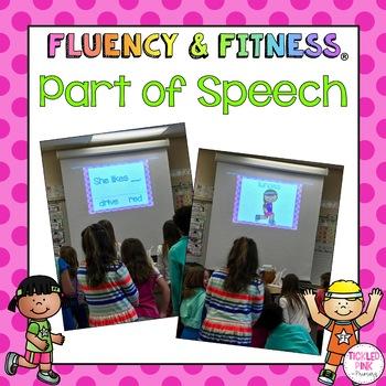 Grammar Fluency & Fitness Brain Breaks Bundle