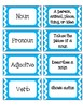 Parts of Speech Foldable and Game