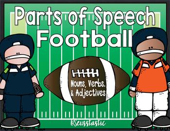 Parts of Speech Football