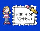 Parts of Speech Freebie!