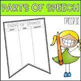 Parts of Speech - Freebie