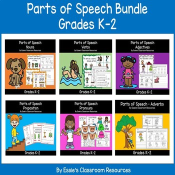 Parts of Speech (GROWING BUNDLE)