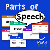 Parts of Speech Game Cards - FREEBIE!